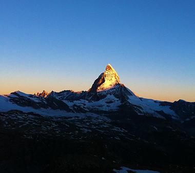 MatterhornSonnenaufgang