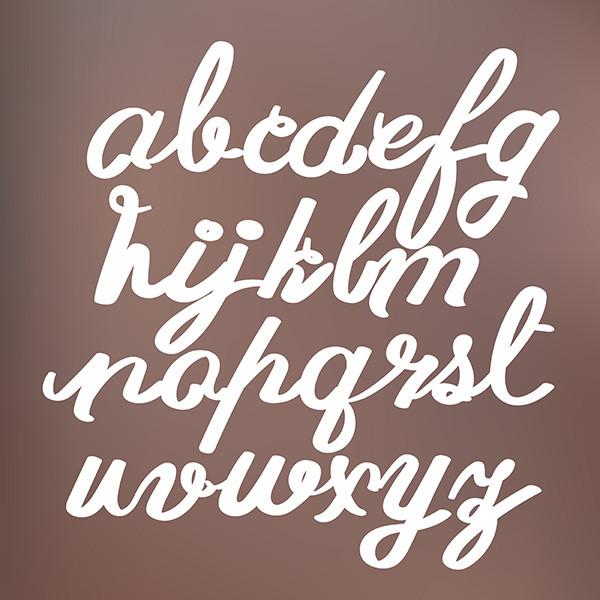 Typografie Schriftdesign